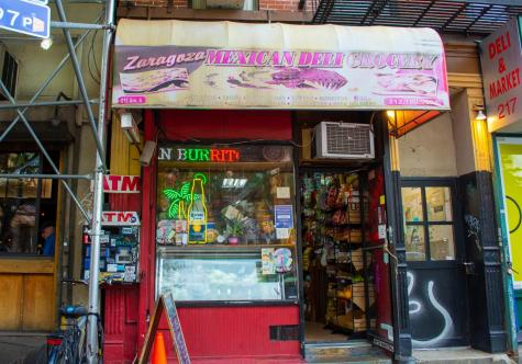 Zaragoza Mexican Deli and Grocery is located at 215 Avenue A in the East Village. This small Mexican deli offers a taste of Mexican cuisine and culture on the island of Manhattan. (Staff Photo by Manasa Gudavalli)