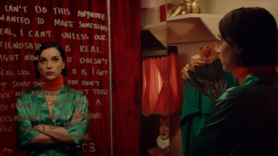 """""""The Nowhere Inn"""" is a mockumentary starring St. Vincent and Carrie Brownstein that was released on Sept. 17. The film is an experimental look at the role of the modern performer.  (Image courtesy of IFC Films)"""