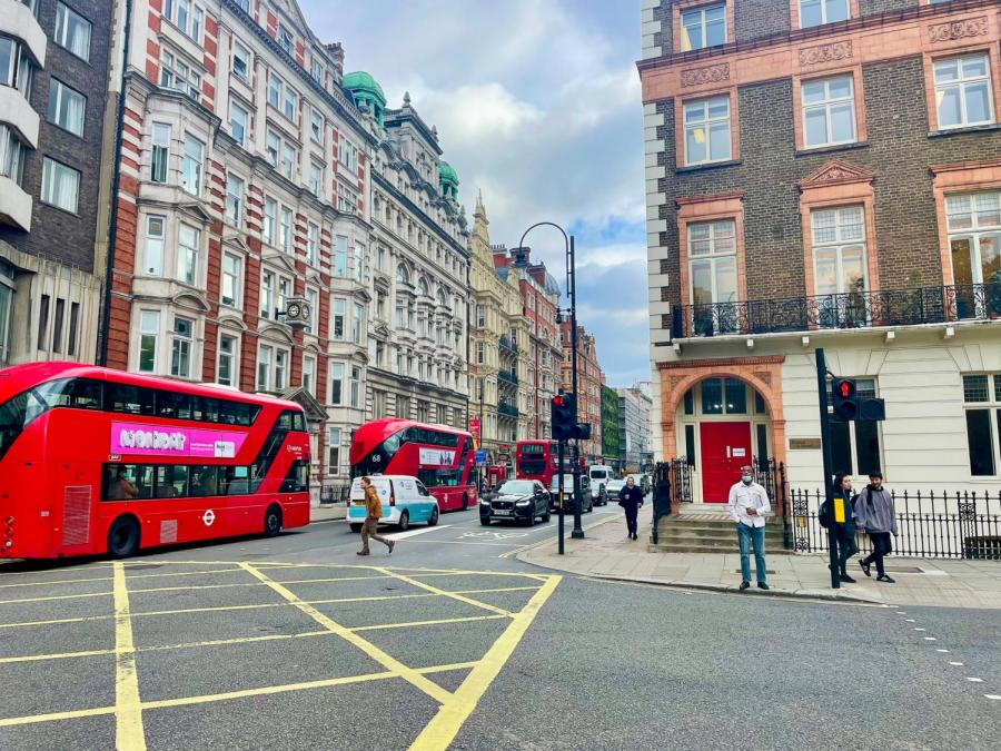 NYU London is a popular site for students interested in study away. These albums by British artists will help set the stage for your semester abroad. (Photo by Ellie Zwolensky)