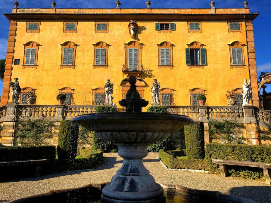The Villa La Pietra estate houses NYU Florence. Due to COVID-19 guidelines, NYU Florence has paused homestays for the fall 2021 semester. (Staff Photo by Roshni Raj)