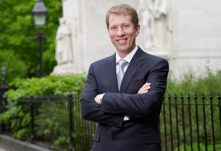 NYU Law Dean Trevor Morrison will be stepping down at the end of the academic year. He has held the position since 2013. (Image via nyu.edu)