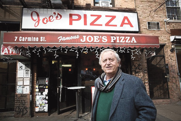 Joes Pizza is a common late night snack destination for NYU students. (Courtesy of Joes Pizza)