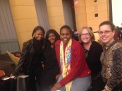 Officers at the Winter 2014 Toastmasters District 46 Meeting