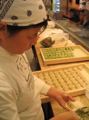 dumpling lady