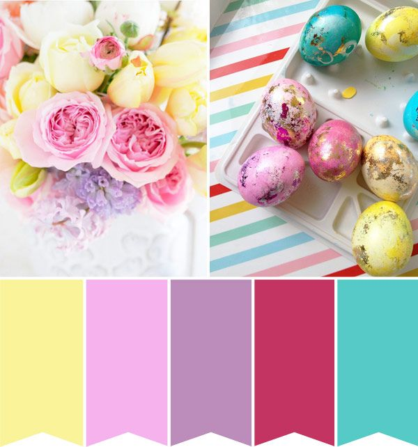 Easter colours