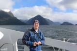 Philip enjoying the splendor of Doubtful Sound