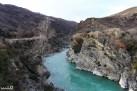The blue Kawarau River
