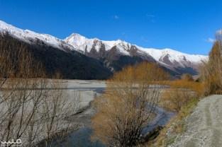 The Matukituki River flows through Mt Aspiring National Park.