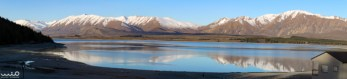 Lake Tekapo from our campsite