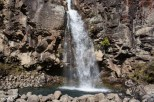 We spent some time checking out Taranaki Falls--a powerful force of water