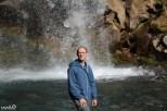 "Philip the Lucky Charms man ""tastes the rainbow"" at Taranaki Falls"