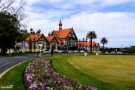 Rotorua Museum in the Government Gardens