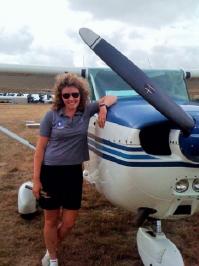 Bianca Barbarich-Bacher, New Zealand Association of Women in Aviation