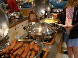 ハーミテージホテルバイキング朝食4