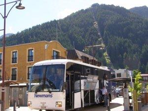 クイーンズタウンニューマンズバス