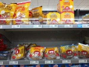 クッキータイムスーパー棚