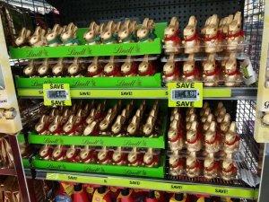 NZイースターバニーチョコレート