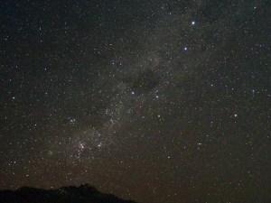 クイーンズタウンガーデン先端からの星空,南十字星