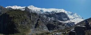 ロブロイ氷河パノラマ