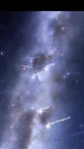 南十字星サザンクロスを見つけるアプリ