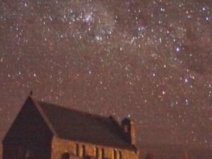 テカポの8月16日朝5時45分の星空