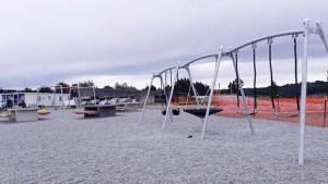 テカポ湖の公共遊び場
