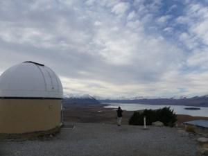 18年8月12日のテカポ湖マウントジョン天文台