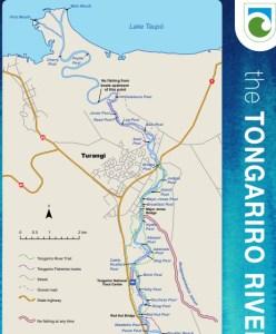 トンガリロリバーマス釣りアクセスとプールマップ