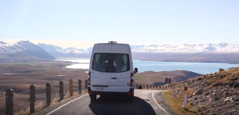 NZ南島キャンピングカー旅行