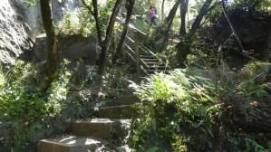 ワナカロッキ-マウンテン急な階段
