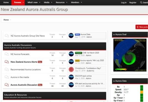 NZAuroraAustralisGroupサイトぺージ