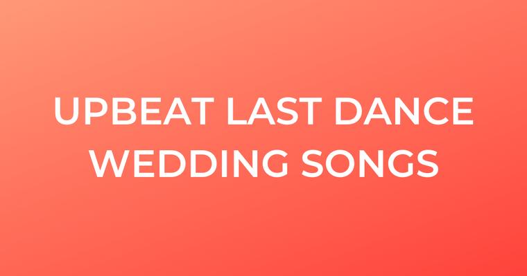 Upbeat Wedding Songs 2