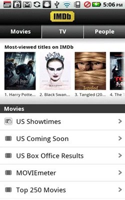 imdb andriod app