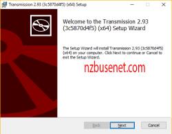 tranmission setup windows Torrent transmission installeren Windows