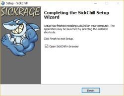 SickChill-starten