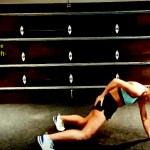 Single arm burpee with -Left- 12 reps