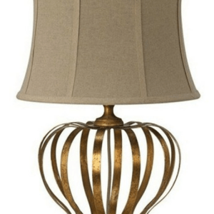 SL2005 TABLE LAMP GOLD/CREAM