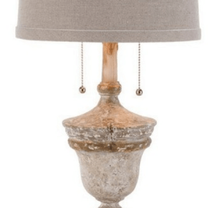 SL2012 TABLE LAMP CREAM/CREAM