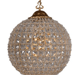 RL4006 ORB ANTIQUE CHANDELIER