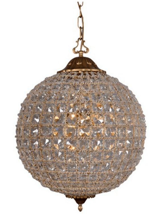 RL4007ORB ANTIQUE CHANDELIER