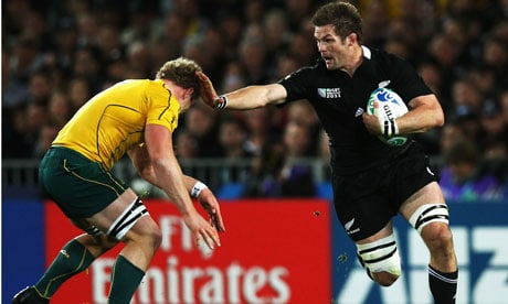 "Richie McCaw says ""No chance mate!"""
