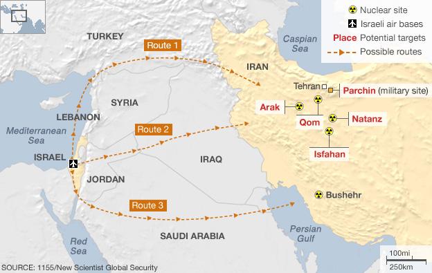 Analyse: comment Israël pourrait frapper l'Iran - BBC News