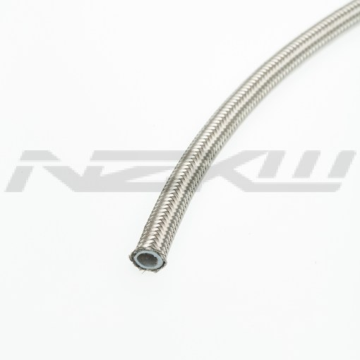 NZKW 200 Series Stainless Braided Teflon Hose sold per 100mm