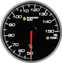 Shadow Pro 2.0 Sports Meter - 52mm BF Oil Temp Gauge