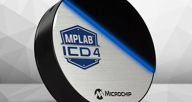Microchip MPLAB ICD 4 with faster processor and increased RAM