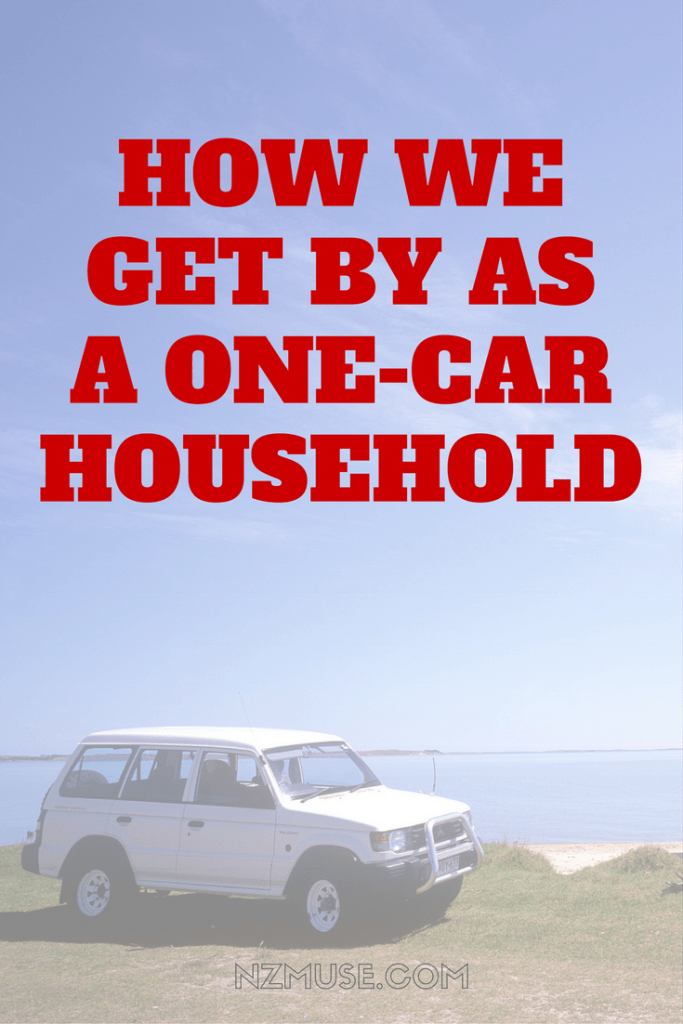 How we get by as a one car household