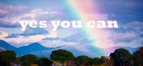 yes you can motivation inspiration