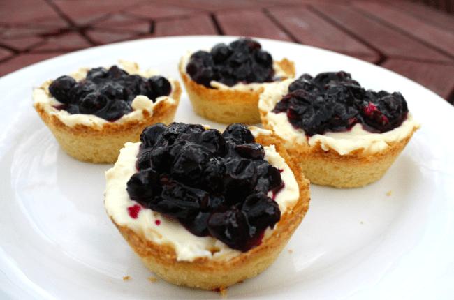 blueberry cream cheese tarts nzmuse