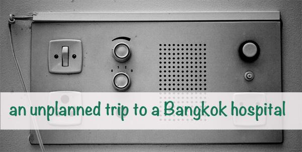 unplanned trip to a bangkok hospital nzmuse