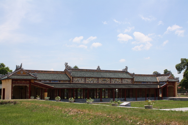 Imperial City buildings, Hue